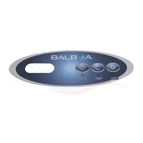 Whirlpool Display Aufkleber Balboa VL200 - 3 Knöpfe, 1 Pumpe ohne Blower