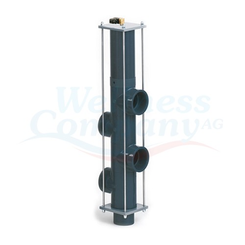 BESGO 5-Wege Rückspül-Ventil inkl. Magnetventil