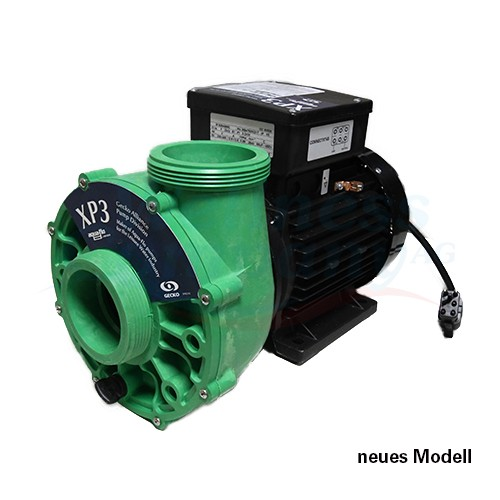"""Swim-Spa und Whirlpool Pumpe 1 Speed XP3 Gecko 2,5"""" Anschlüsse"""