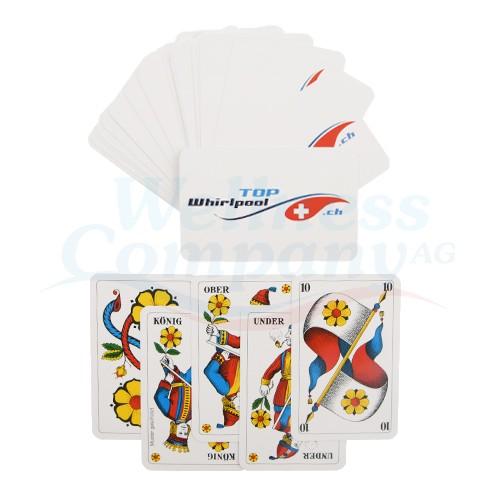 Wasserfeste PVC Jasskarten - Deutsche Spielkarten