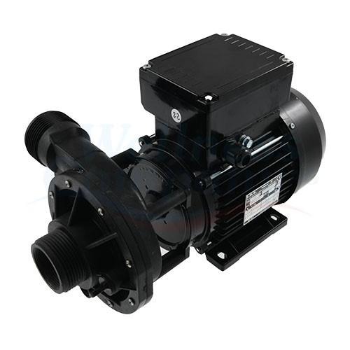 """MEC80 Pumpe 2-Speed 240V 6.5/1.5A mit Wet-End 2 PS, 1.5"""" Gewinde - montiert"""