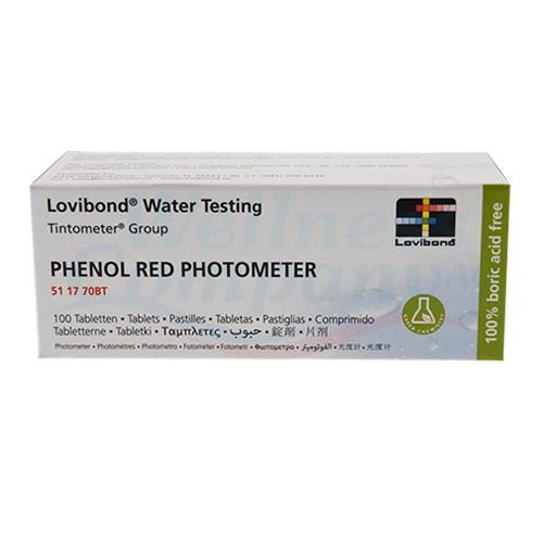 Nachfüllpackung für Scuba II Parameter pH - Phenol Red