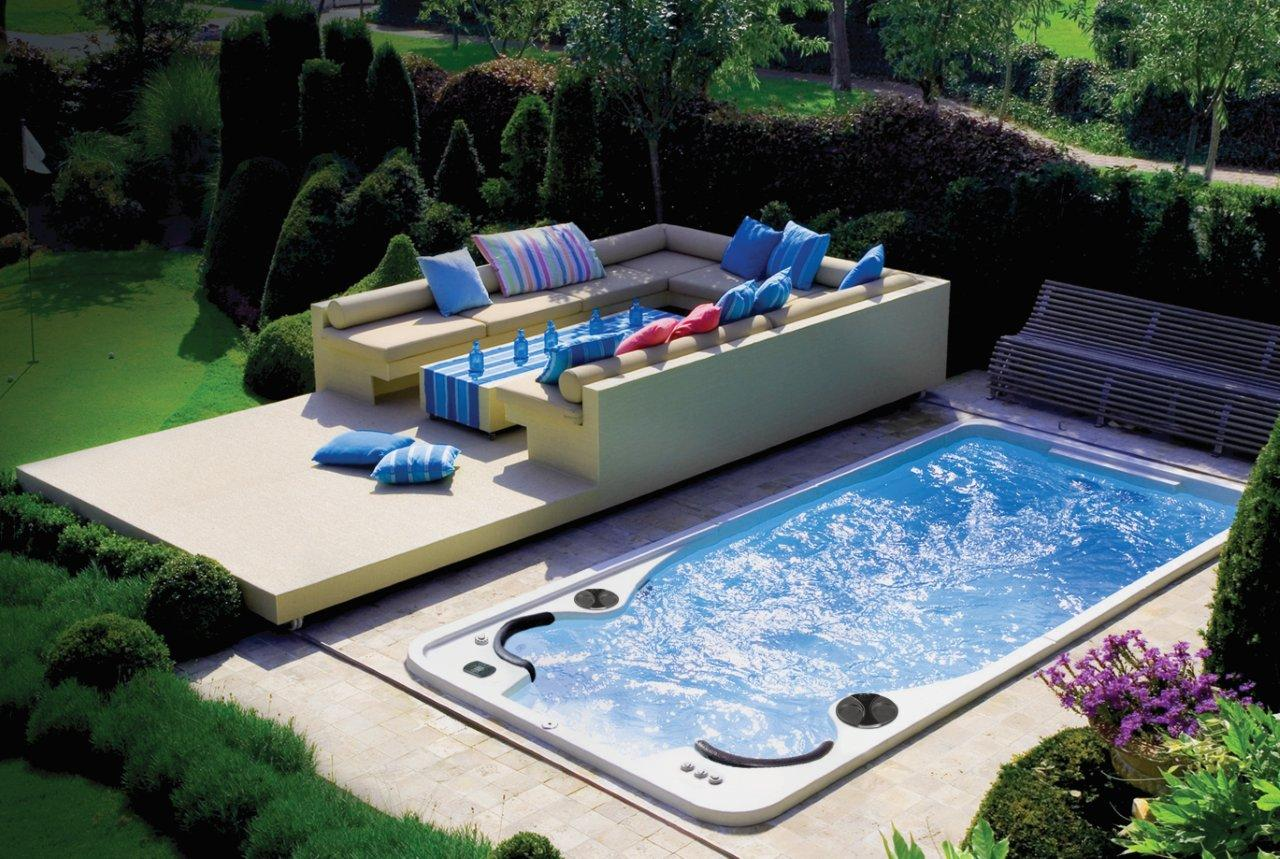 Swim spa hydropool 14fx top for Swimmingpool verkleidung