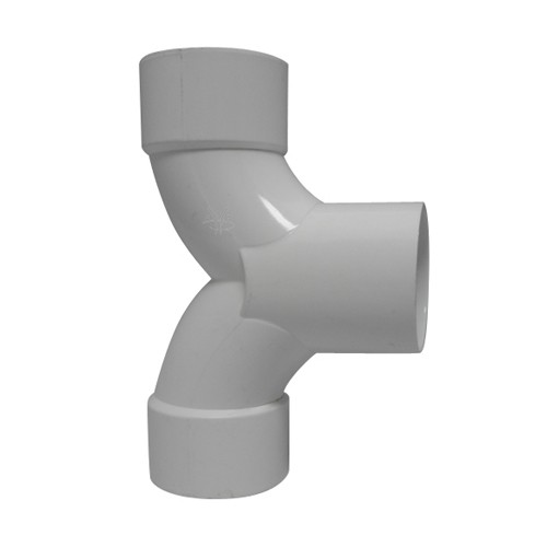 """2.5"""" PVC T-Stück für Swimspa und Whirlpool"""