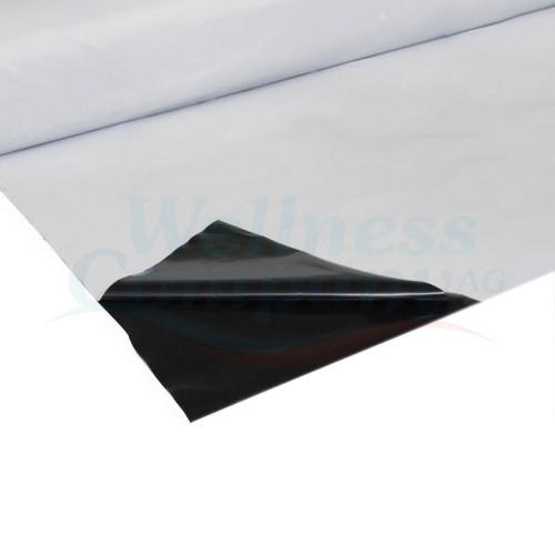 Schutzfolie weiss/schwarz für Lufkammerwärmeplane zu Aufstellbecken
