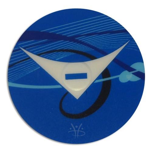 Hydropool Sticker Gecko TSC3 Swimpower Control Down Overlay