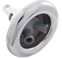 Rotierende Whirlpool Düse - Edelstahl Optik