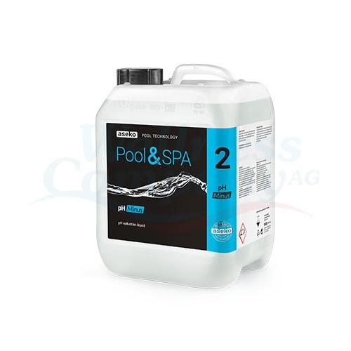 Aseko pH MINUS - 5 Liter Kanister