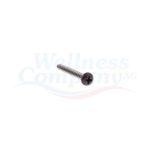 Hydropool Schraube Whirlpool, 4mm x 38mm- Espresso