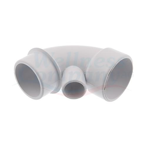 """2"""" PVC Whirlpool Rohrbogen 90° Grad Spg x S x 3/4"""""""