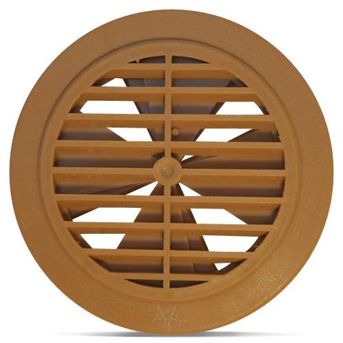 Hydropool Whirlpool Lüftungs-Gitter Braun Cedar