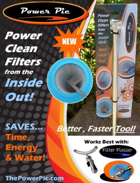 Power-Pic Filter Innen-Reinigungsbrause