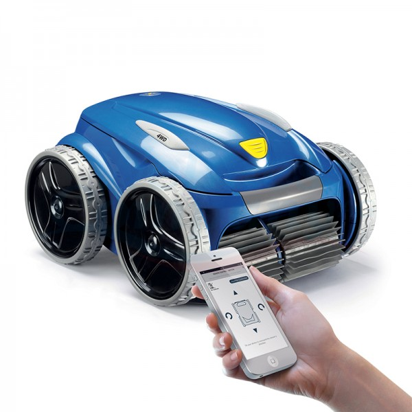 Zodiac 4WD Vortex Pro RV 5480 iQ Pool-Reinigungsroboter für Schwimmbad mit App-Steuerung