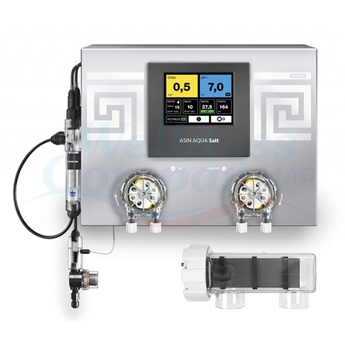 ASIN Aqua SALT REDOX 25 - variable speed - Dosieranlage für Pool - Salzwasser-Elektrolyse