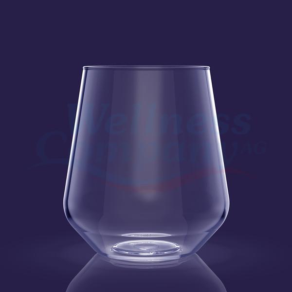 Wasser / Wein Kunststoffglas - 40 cl