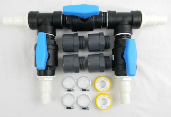 Schwimmbad Pool Bypass-Set für Heizung