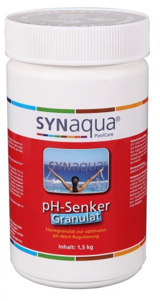 PH Wert Whirlpool Senken pH Minus Granulat - 1.5 kg Dose pH-
