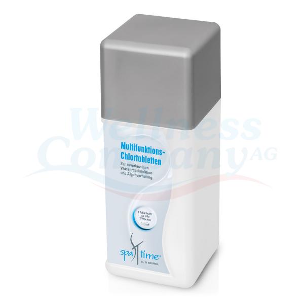 Spa-Time Multifunktions-Chlortabletten 20g von Bayrol - 1 kg Dose