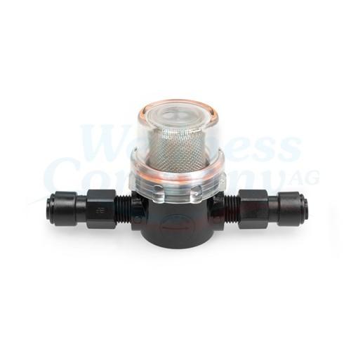 Wasserentnahme Filter zu Dosieranlage Aseko