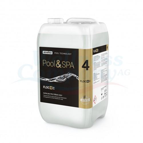 Aseko Pool FLOC+C Flockungsmittel - 20 Liter Kanister