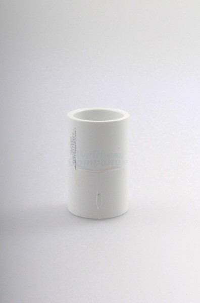 "PVC-U 3/4"" Muffe, weiss oder grau"
