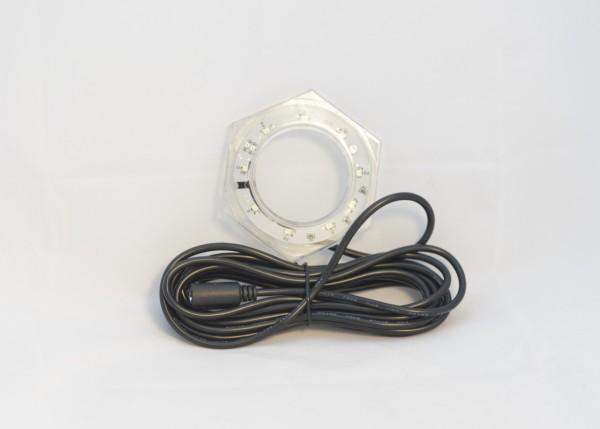 """Hydropool 1"""" LED Licht Ring mit DIN Verbindungsstecker"""