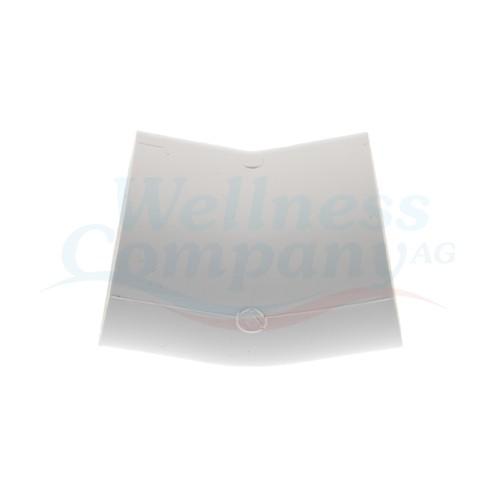 """2"""" PVC Whirlpool Rohrbogen 22.5° Grad S x S"""