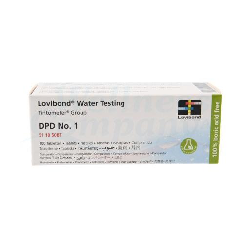 Nachfüllpackung für Scuba II Parameter Chlor - DPD Nr. 1