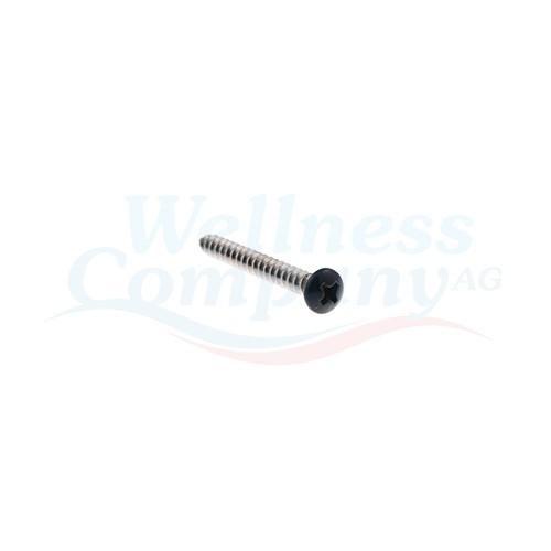Hydropool Schraube Whirlpool 37mm x 4mm Schwarz