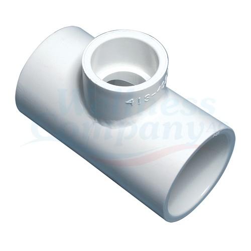 """2""""x2""""x1"""" Reduzier PVC T-Stück für Whirlpool (Spg x Spg x S)"""