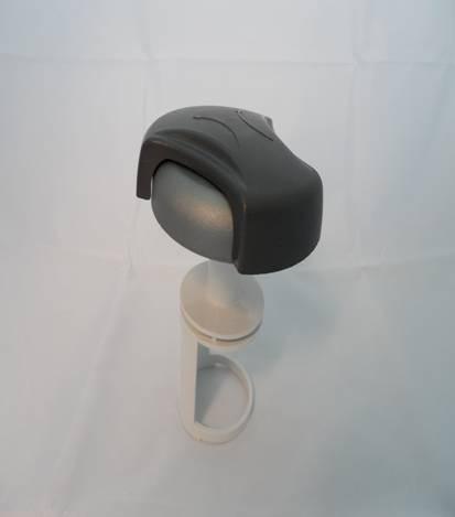 "Whirlpool Wasser-Steuerventil 2"" Diverter Cap/Handle Hydropool"