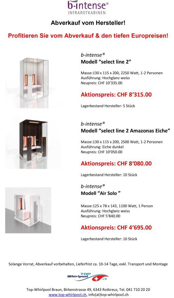 abverkauf design infrarotkabinen top. Black Bedroom Furniture Sets. Home Design Ideas