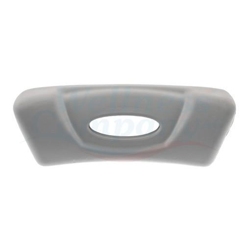 Wellis Whirlpool Nackenkissen light grey