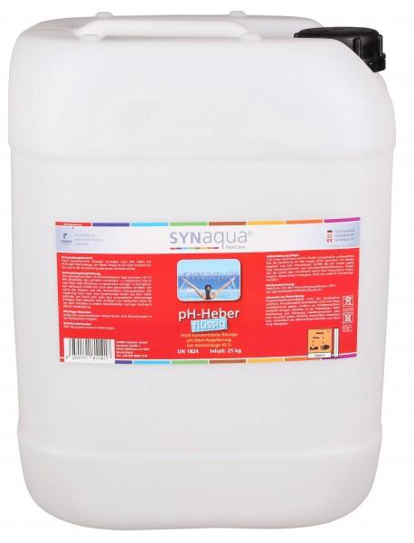 Synaqua pH Heber flüssig - 12 kg Kanister pH+