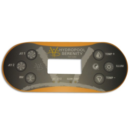 Balboa Whirlpool Display Aufkleber TP600