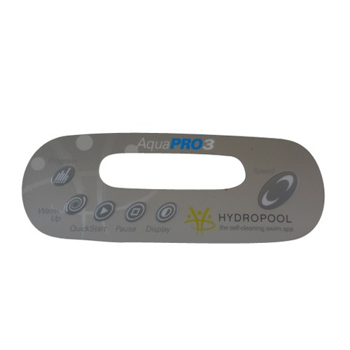 Hydropool Swim Spa Aqua Pro 3 Overlay Sticker