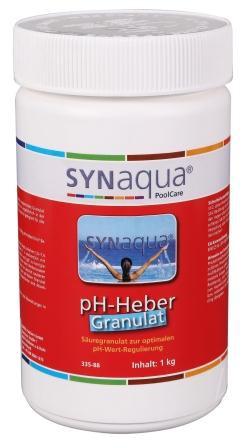 Synaqua pH Heber Granulat - 1 kg Dose pH+