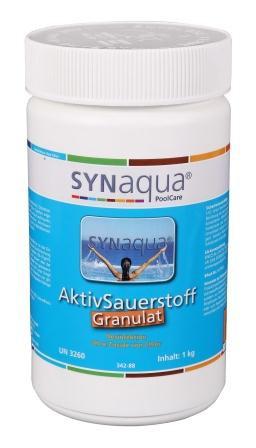 Synaqua Aktivsauerstoff Pulver - 1 kg Dose
