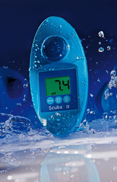 Scuba II Elektronischer Wassertester