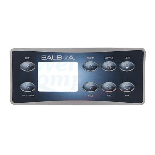 Balboa VL801 Aufkleber Sticker 1 Pumpe & Air & Aux