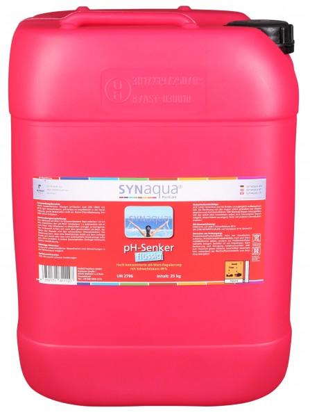 Synaqua pH Senker flüssig - 25 kg Kanister pH-