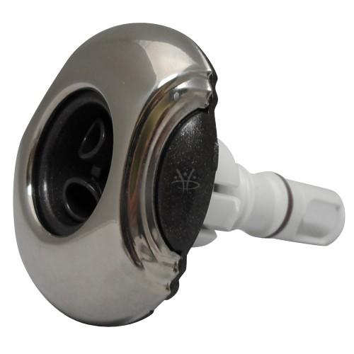 Whirlpool Düse Cluster Jet Pulsator Edelstahl Optik