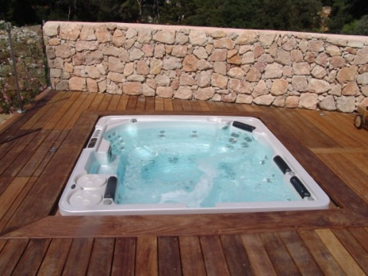 hydropool h700 platinum outdoor indoor whirlpool top. Black Bedroom Furniture Sets. Home Design Ideas