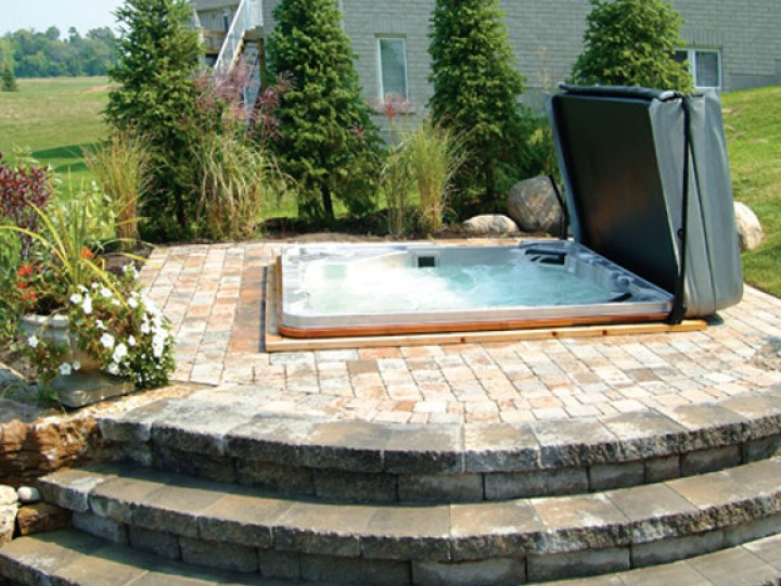hydropool h800 platinum luxury outdoor indoor whirlpool top. Black Bedroom Furniture Sets. Home Design Ideas